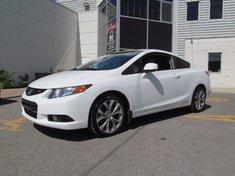 Honda Civic Cpe SI-INTÉRIEUR CUIR UNIQUE+ 2012