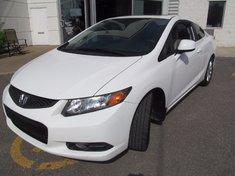 Honda Civic Cpe EX+Toit ouvrant+Garantie jusqu'a 200.000km 2012
