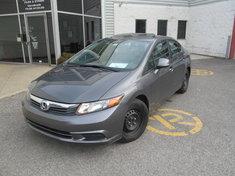 Honda Civic EX+pneus été sur mags Garantie 10 ans ou 200.000km 2012