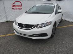 Honda Civic EX + GARANTIE 10ANS / 200 000KM 2013