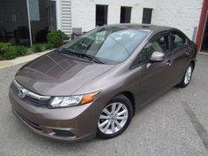 Honda Civic EX-garantie global jusqu'en juin 2018 2012