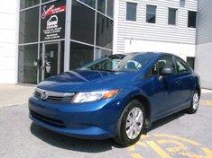 Honda Civic DX-Garantie jusqu'A 200.000km 2012