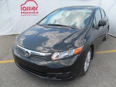Honda Civic EX+Toit ouvrant+Garantie 10 ans ou 200.000km 2012
