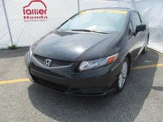 Honda Civic EX COUPÉ + GARANTIE 10ANS/200.000KM 2012