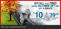 Change Your Tires Before Winter Arrives!